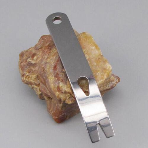 Outdoor Mini Crank Crowbar Pocket Pry Bar Keychain Survival Scraper EDC #8FR