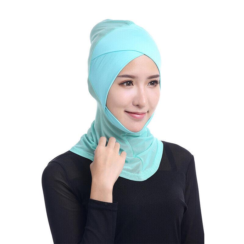 Hijab Ameria Bone Bonnet Kopftuch Islam einteilig Schlauch Schal