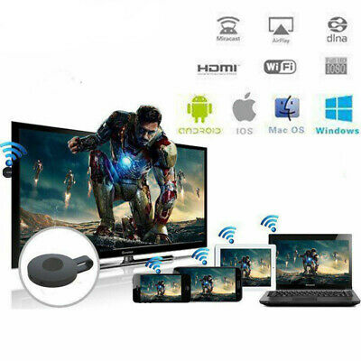 Chromecast Wireless Mirascreen Hdmi Display Dongle Media Video Streamer 3