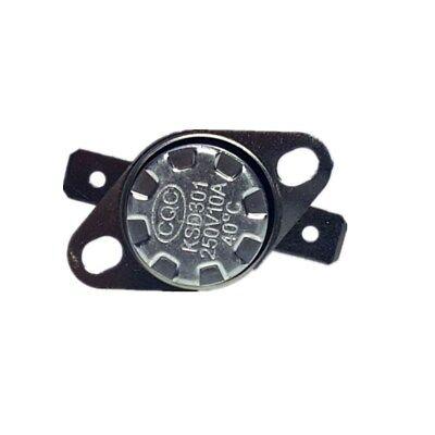 Temperature Switch Control Sensor Thermal Thermostat 35°C-160°C NO/NC KSD301 10