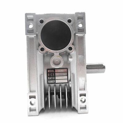 NMRV040 Worm Gear Reducer Ratio 10~100:1 Shaft for NEMA24/32/34/36 Stepper Motor 5