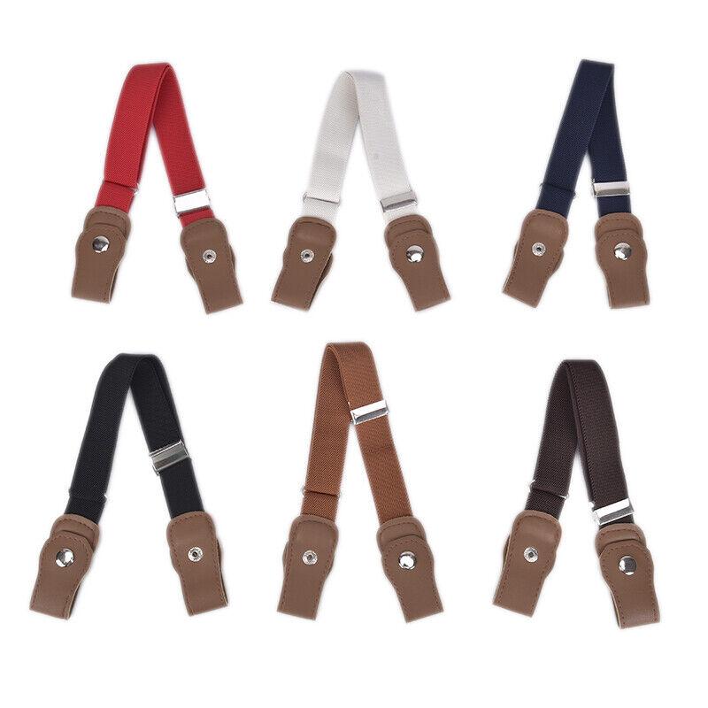 Boys Girls Buckle Free Stretch Belt Jeans Waistband Waist Belt Adjustable TEUS 2
