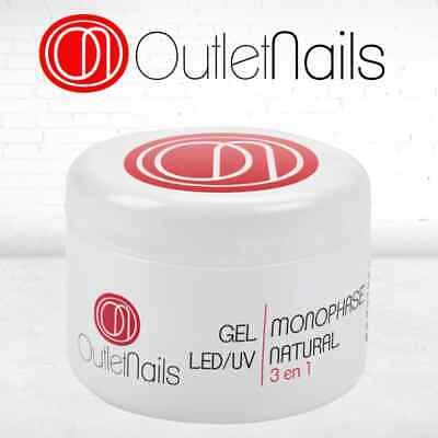 Gel 3 In 1 Uv Monofase Rose 50Ml Nail Art Monofasico Ricostruzione Unghie Primer 6