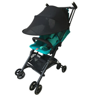 Black Baby Child Pushchair Stroller Pram Buggy Sun Shade Canopy Cover UV UPF50+ 7