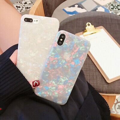 For iPhone 8 7 Plus XS MAX XR Marble Shockproof Silicone Soft Phone Case Cover 2
