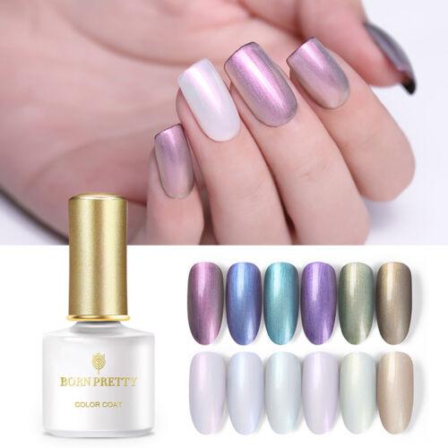 BORN PRETTY UV LED Glitter Sequins Gel Nail Polish Soak Off Topcoat Varnish 6ml 11