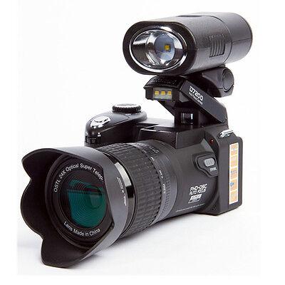 Appareil photo numérique POLO D7200 33MP 1080P +3 objectif large +projecteur LED 9