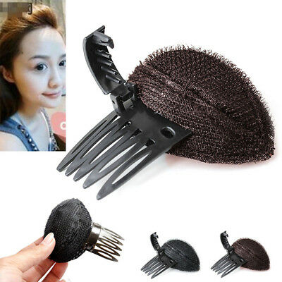 Forehead Hair Volume Fluffy Puff Sponge Pad Clip Comb Insert Base DIY Styling 2