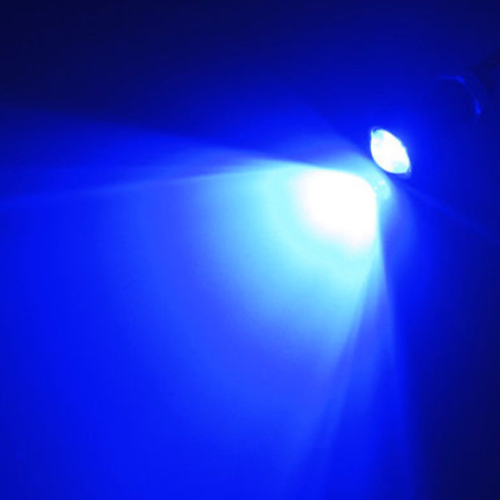 4X BLUE LED Boat Light Silver Waterproof For WAVERUNNER JET Yamaha  Underwater