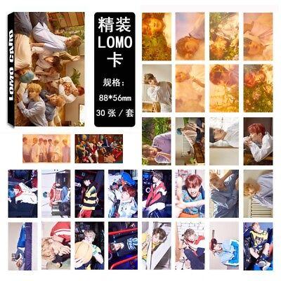 Lot of /set KPOP Bangtan Boys Collective Album Posters Photo Card Lomo card 4
