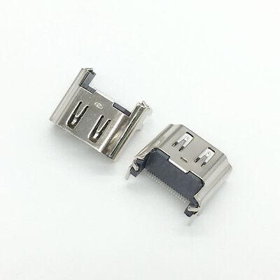Connecteur HDMI console Playstation 4 PS4 Port V2 socket  19 pin prise à souder 7