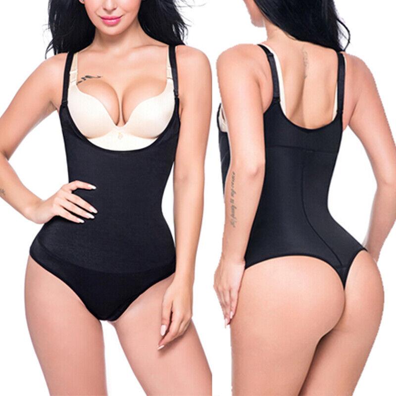 Fajas Colombianas Thong Body Shaper Slimming Shapewear Bodysuit Post Surgery US 2