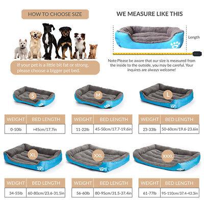 Pet Dog Bed Orthopedic Large Dog Beds Dog House Nest Kennel for Cat Puppy XXXL 4