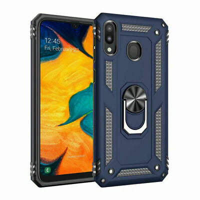 For Samsung Galaxy A70  A71 Ring Holder Case Heavy Duty Cover Screen Protector 8