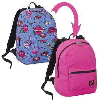 Zaino Seven Reversibile The Double Swallow Con Cuffie Linea Scuola 2018/2019 2