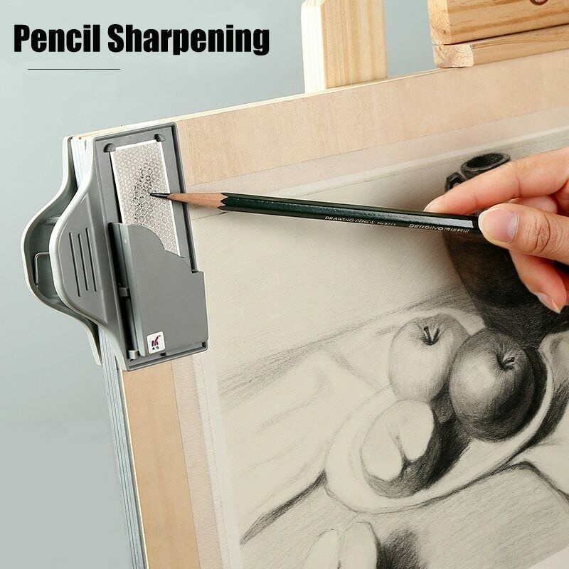 Professional Sketching Board Clip Sketch Drawing Charcoal Pencil Sharpening 6