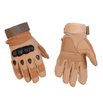 Full Finger Military Hard Knuckle Tactical Motorcycle ATV Hunting Combat Gloves 5