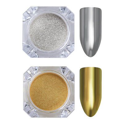 Nail Glitter Mirror Powder Dust Pearl Nail Art Chrome Pigment Decoration DIY 12