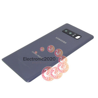 OEM Battery Back Door Glass Cover Camera Lens Cover For Samsung Galaxy Note 8 US 9