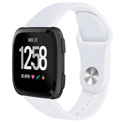 For Fitbit Versa Smartwatch Soft Silicone Replacement Sports Classic Band Strap 4