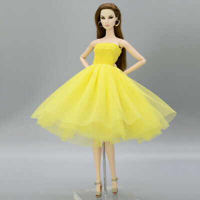 """Fashion Doll Clothes Short Ballet Dress For 11.5"""" Doll Outfits Evening Dress 1/6 3"""