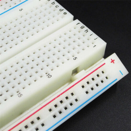 MB-102 Solderless Breadboard Protoboard 830 Tie Points 2 Buses Test Circuit JHC 4