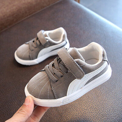 Boys Girls Kids Trainers Shoes Sneaker Children Infant Toddler Casual Shoes size 2
