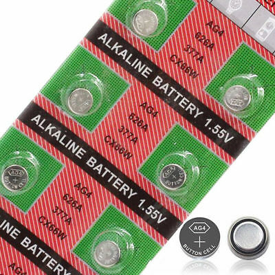 AG4 x20 SR626SW,377LR6261.5vALKALINE BUTTON/COIN CELL WATCH BATTERIES/BATTERY 2