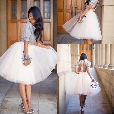 Sweet Style Tutu Skirt Princess Women Petticoat Tulle Long Dress Layered Dress