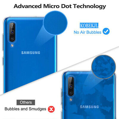 For Samsung Galaxy A50 A40 Ultra-Thin Clear Soft Silicone Shockproof Case Cover 6
