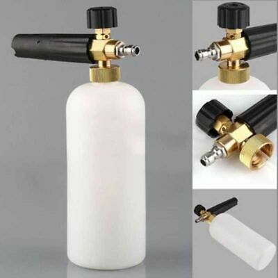 "Pressure Snow Foam Washer Jet Car Wash Adjustable Lance Soap Spray Cannon 1/4"" 4"