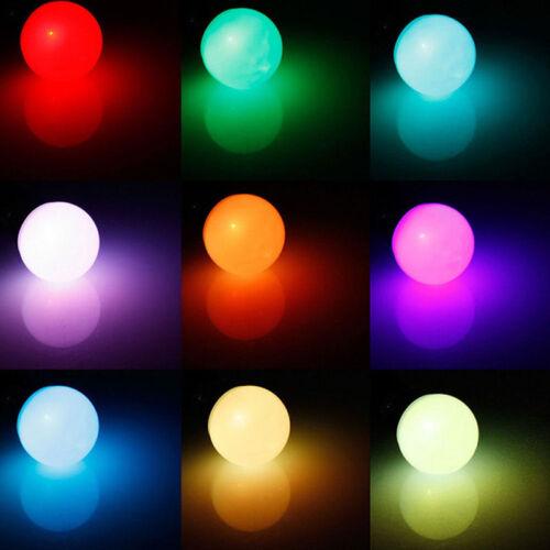 LED Lampe Lampen E27 Farbwechsel Glühbirne RGB Lichterkette 5W Dimmable Remote