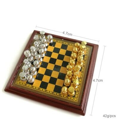 Dollhouse Miniature 1:12 Toy Game A Set Of Plastic Chinese Chess XIANGQI SPO342