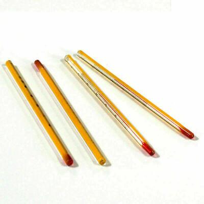 1/3/5/10Pcs Yellow 0-50℃ Glass Thermometer Laboratory Chemistry Glassware 6