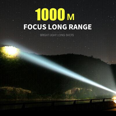 Super-bright 90000lm flashlight CREE LED P70 Tactical torch USB +5000mAh battery 5