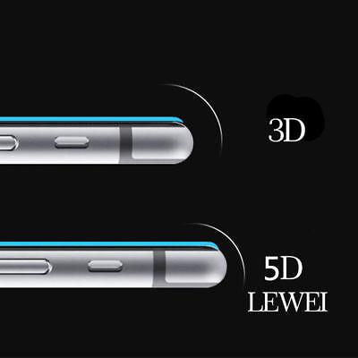 3D/4D/5D  iPhone glass 9H  iPhone 6/7/8/X Schutzhülle curved 4D/5D* Glas 8