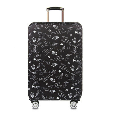 """18""""-32"""" Luggage Suitcase Elastic Protective Travel Dustproof Protector Cover Bag 7"""