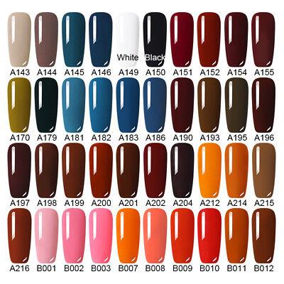 8ml LEMOOC Pure Glitter Nail Art Gel Polish Soak off UV Gel Color Salon Manicure