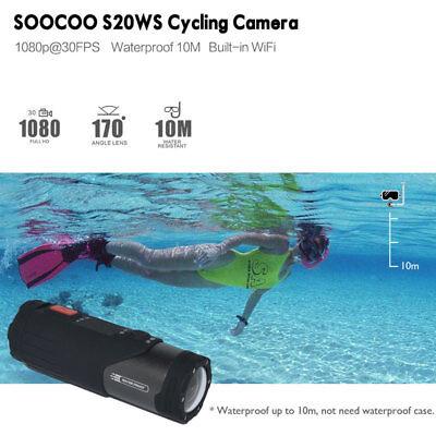 WIFI HD 1080P Sports Action Camera Bike Helmet Waterproof For Shotgun Camcorder 8