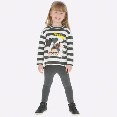 Mayoral Girls striped leggings & Long Sleeved t-shirt set (04713) aged 2-8yrs 3