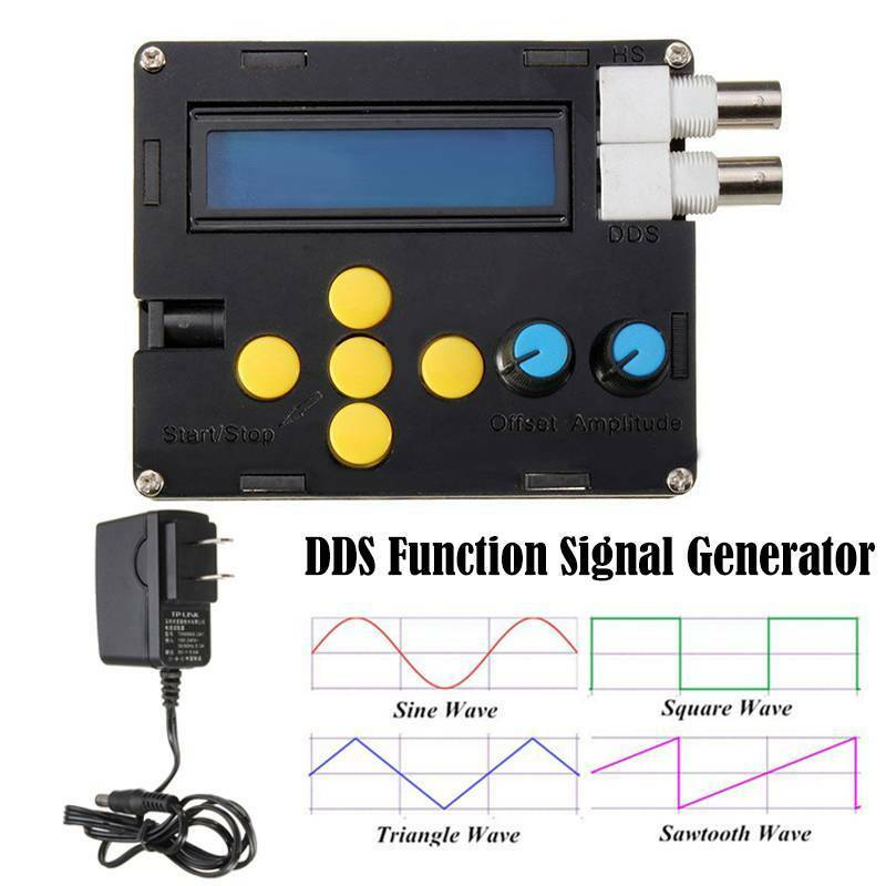 DDS Function Signal Generator Sine Square Triangle Sawtooth Wave Low Frequency 8