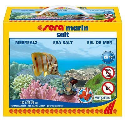 7,8 kg sera marin salt - Meersalz für Osmose- Leitungswasser - 2 Pack Salz 05440 2