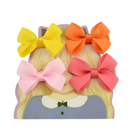 20PCS Baby Big Hair Bows Boutique Girls Alligator Clip Grosgrain Ribbon CuteOC