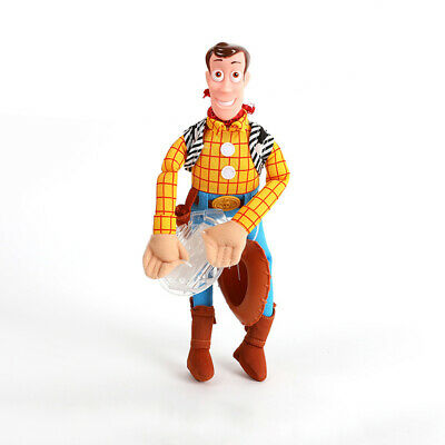 Funny 3D Toy Story 4 Sherif Woody And Buzz Car Doll Outside Car Hanging Gift