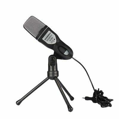 Professional Audio Condenser Microphone Mic Studio Sound Recording w Shock Mount