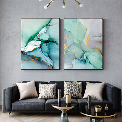 Marble Texture Canvas Poster Abstract Nordic Wall Art Print Modern Home Decor 3