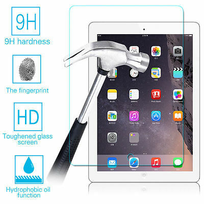 2 Pack Tempered GLASS Screen Protector For iPad 2 3 4 5 6 2017 Pro 9.7 Mini Air 7