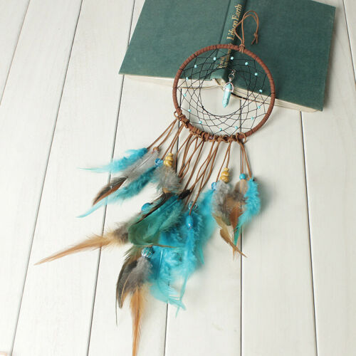 Large Feathers Dream Catcher Dreamcatcher Car Wall Hanging Decoration Ornament 5