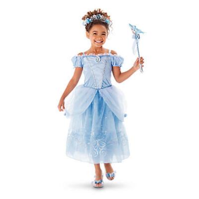 Belle Filles Robe de Princesse Déguisement Rapunzel  Cendrillon Sofia Cosplay 5