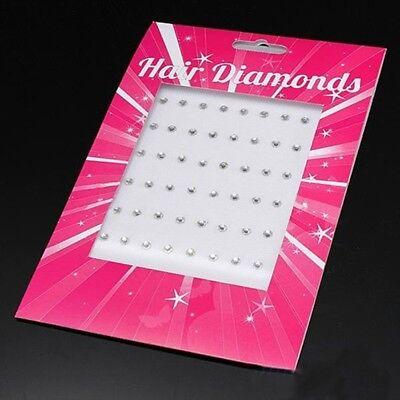 48 Haar Kristalle Strass Hair Diamonds Haarschmuck Braut Hochzeit Brautschmuck